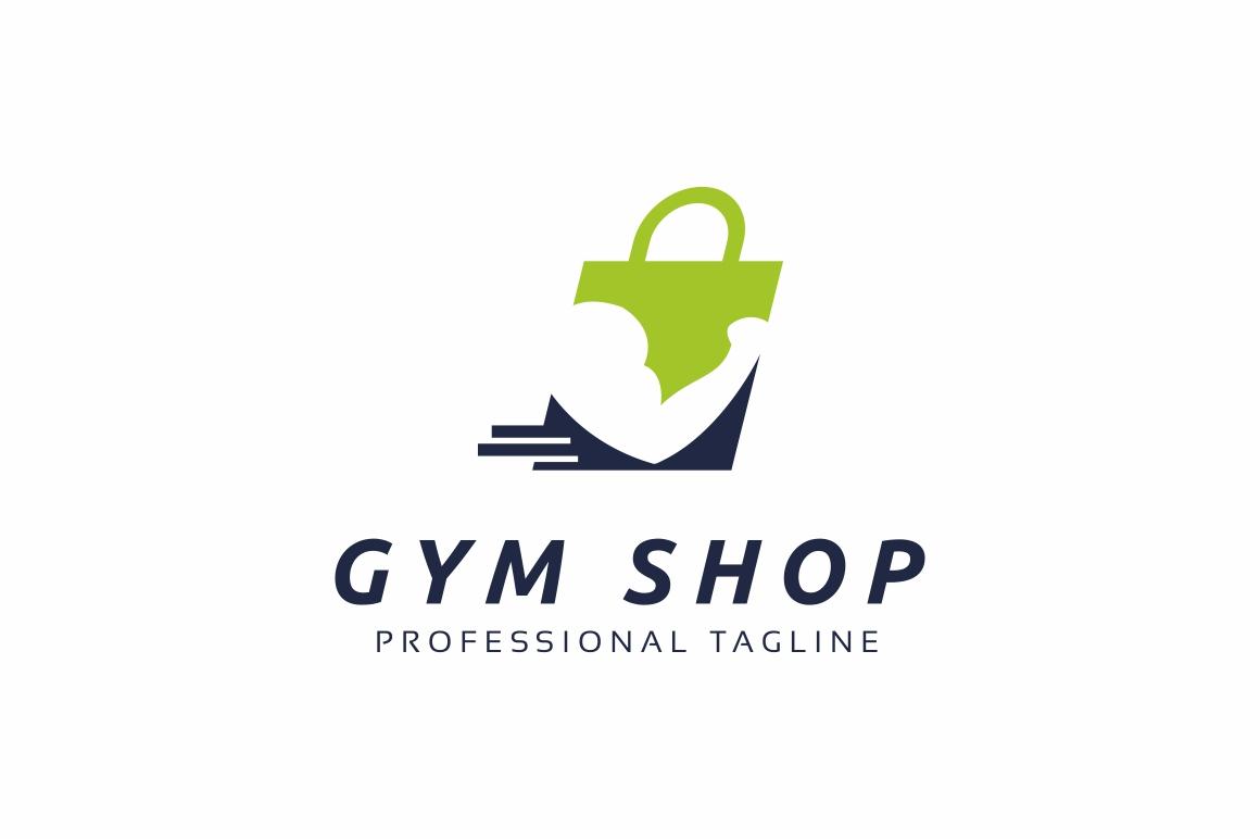 Gym Shop Logo Template