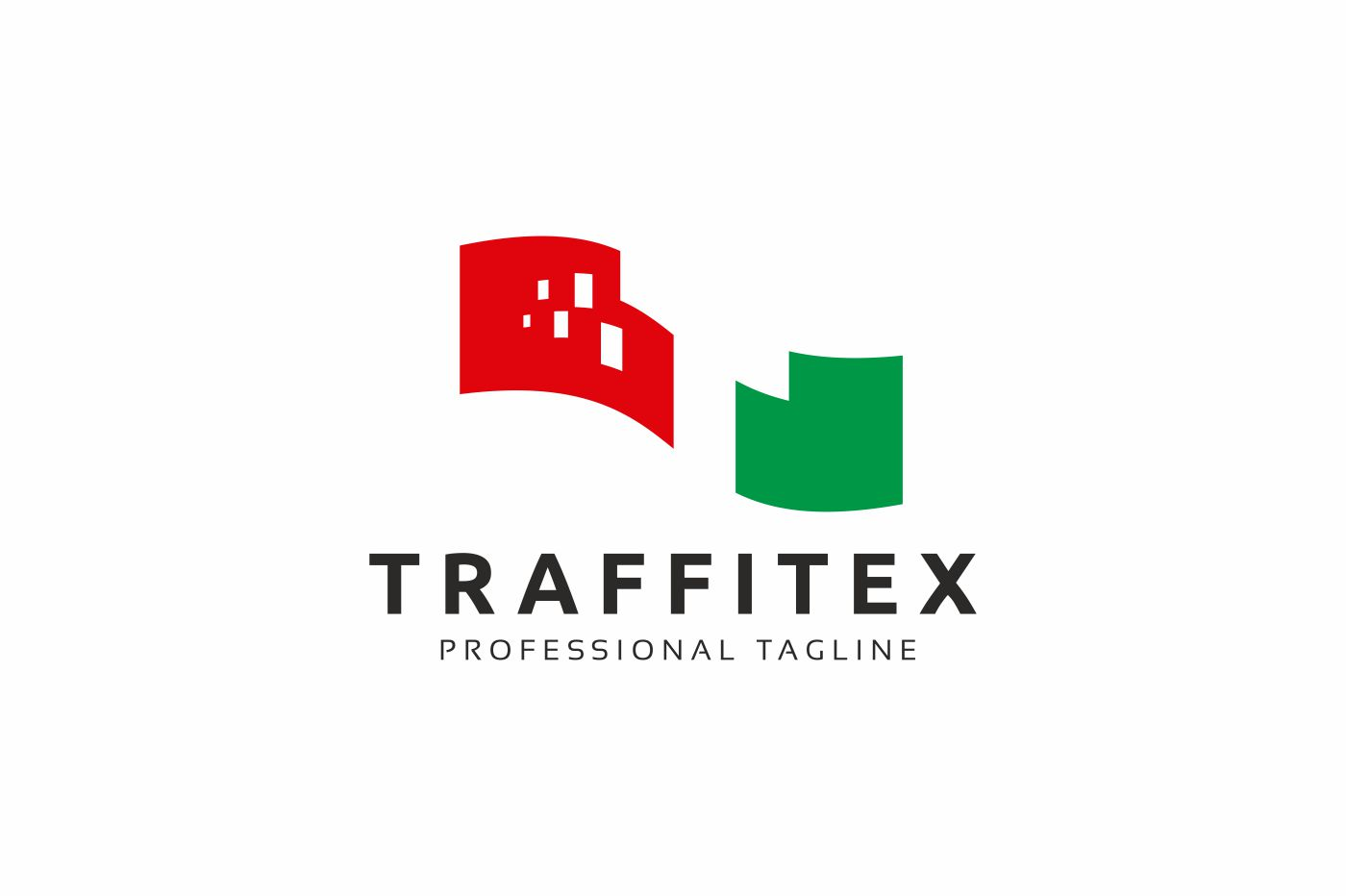 Traffitex T Letter Logo Template