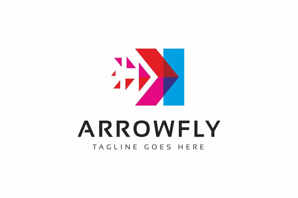 Arrow Fly Logo Template