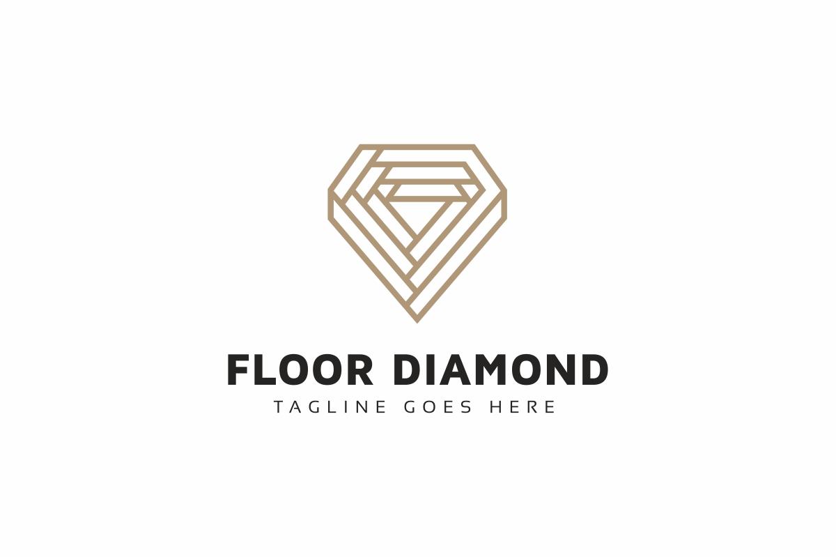 Floor Diamond Logo Template