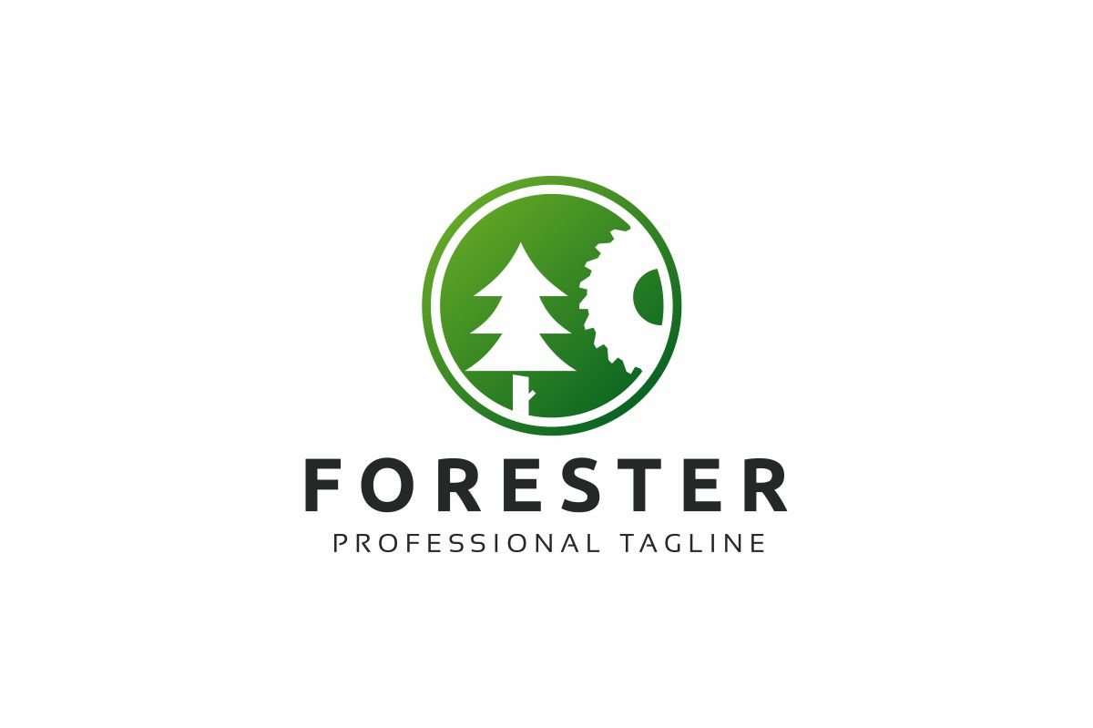 Forester Logo Template