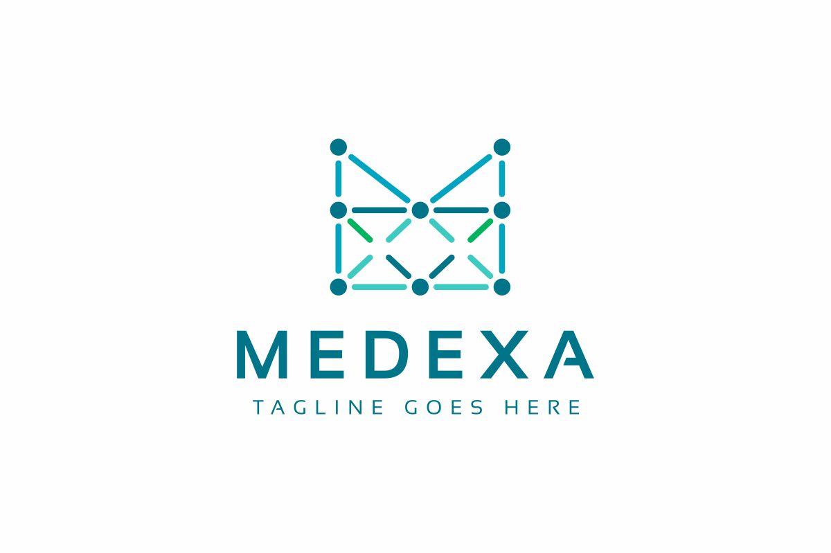 M Letter - Medexa Logo Template