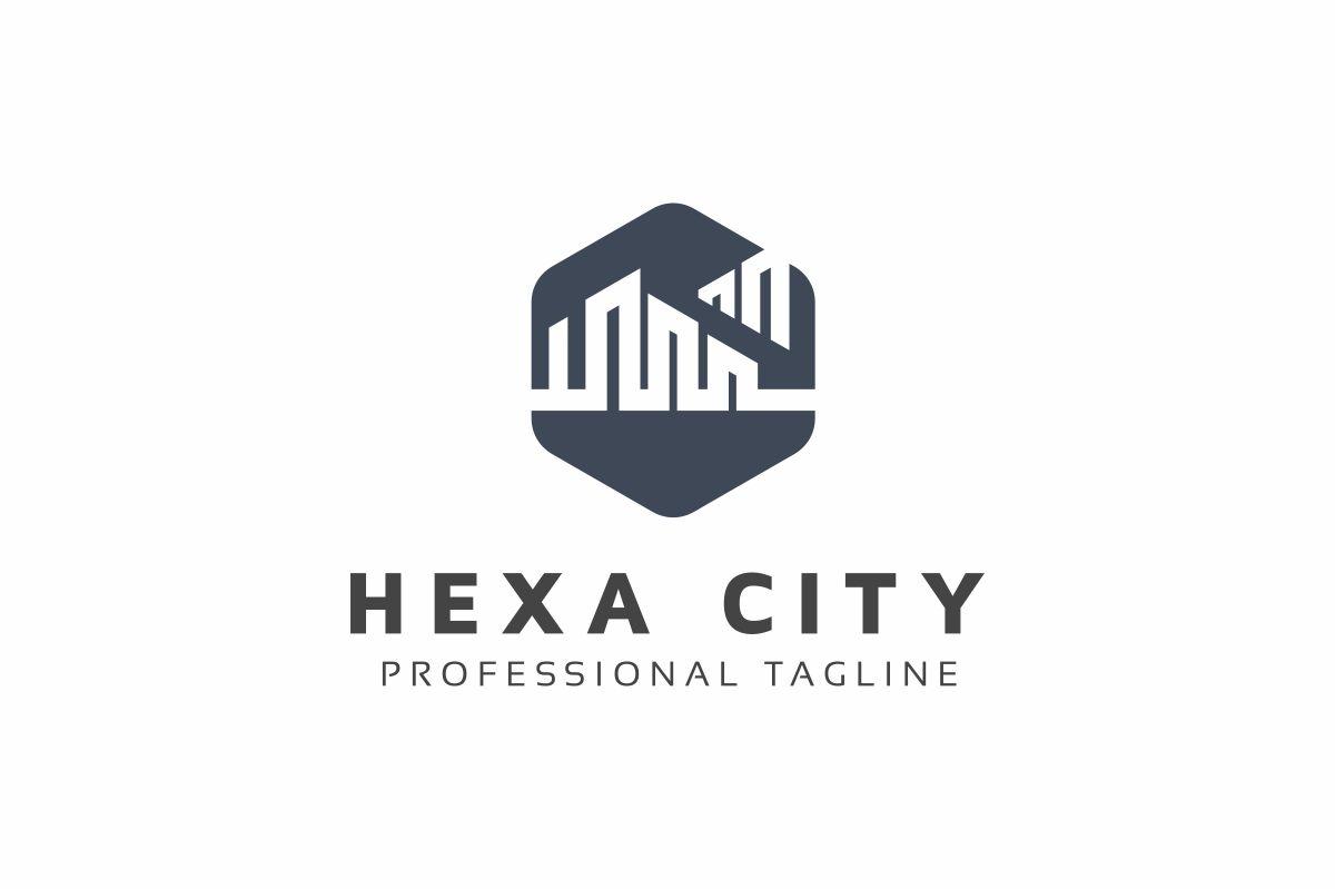 Hexa City Logo Template