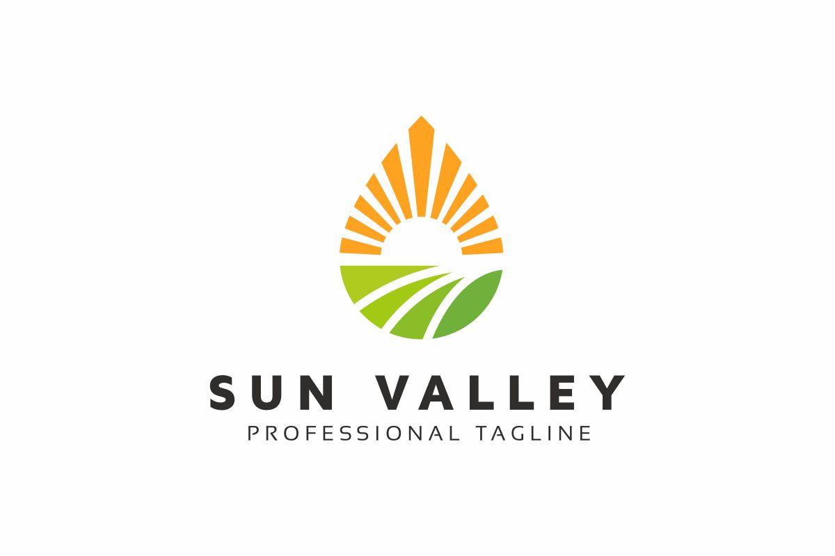 Sun Valley Logo Template