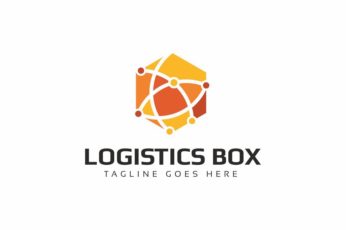 Globe Box Logo Template
