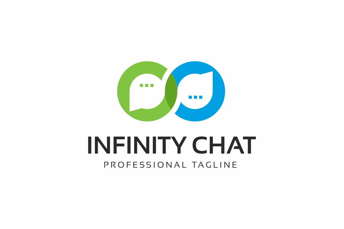 Infinity Chat Logo Template