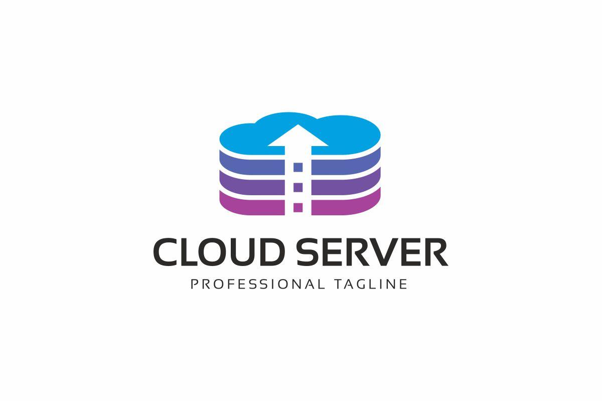 Cloud Server Logo Template