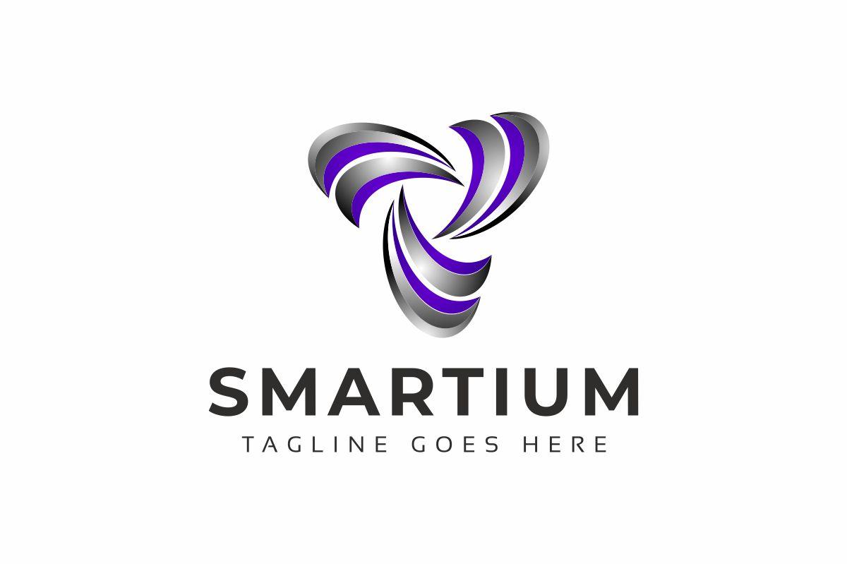 Smartium 3D Logo Template