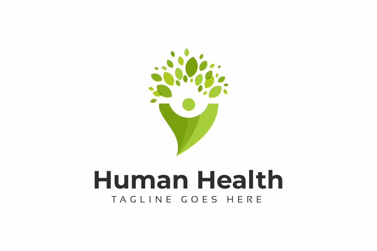 Human Health Logo Template
