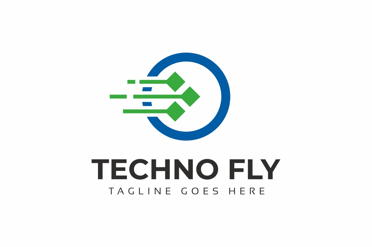 Circle Tech Logo Template