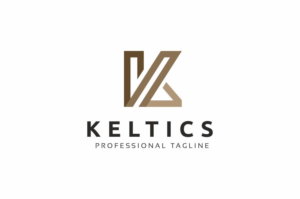 Keltics K Letter Logo Template