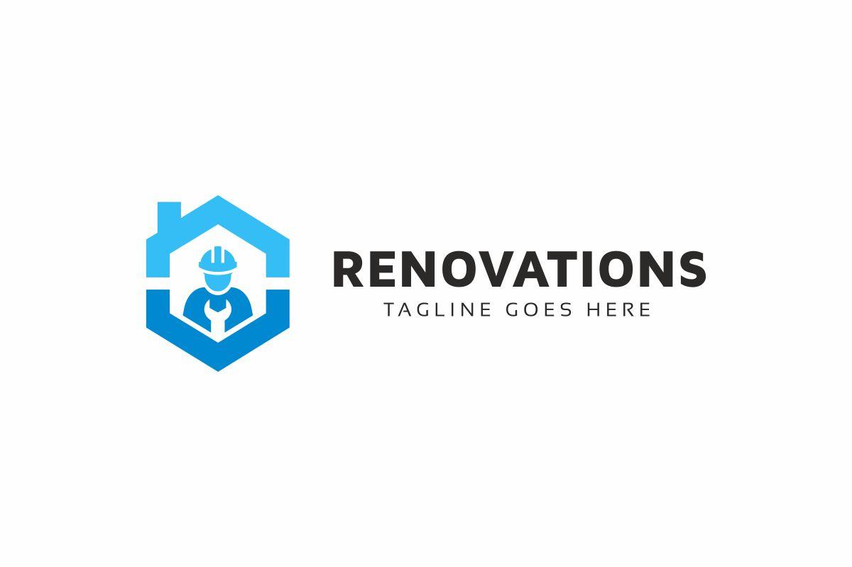 Renovations Logo Template