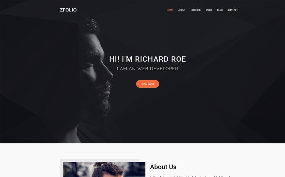 Zfolio | MultiPurpose And Sass Landingspagina Template