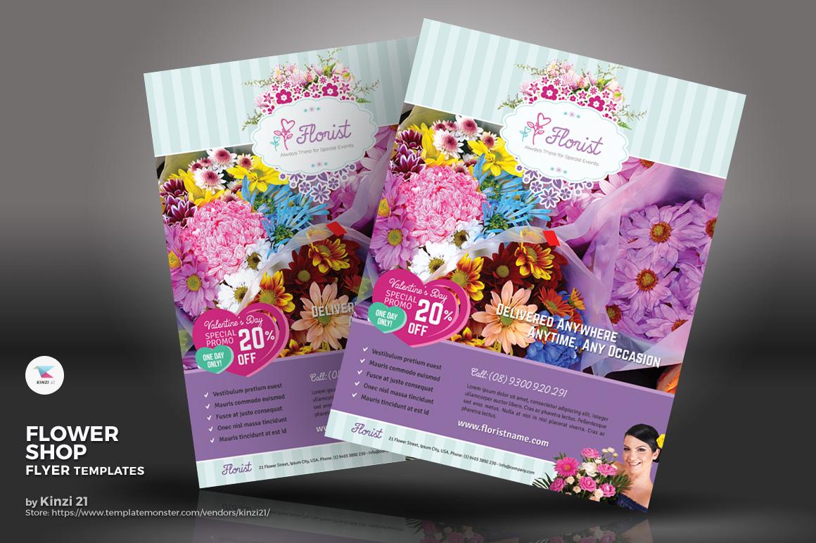 Flower Shop Flyer Corporate Identity
