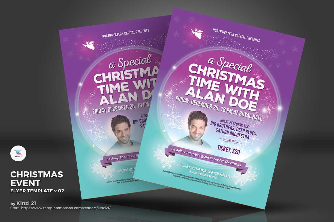 Christmas Event Flyer vol.02 Corporate Identity