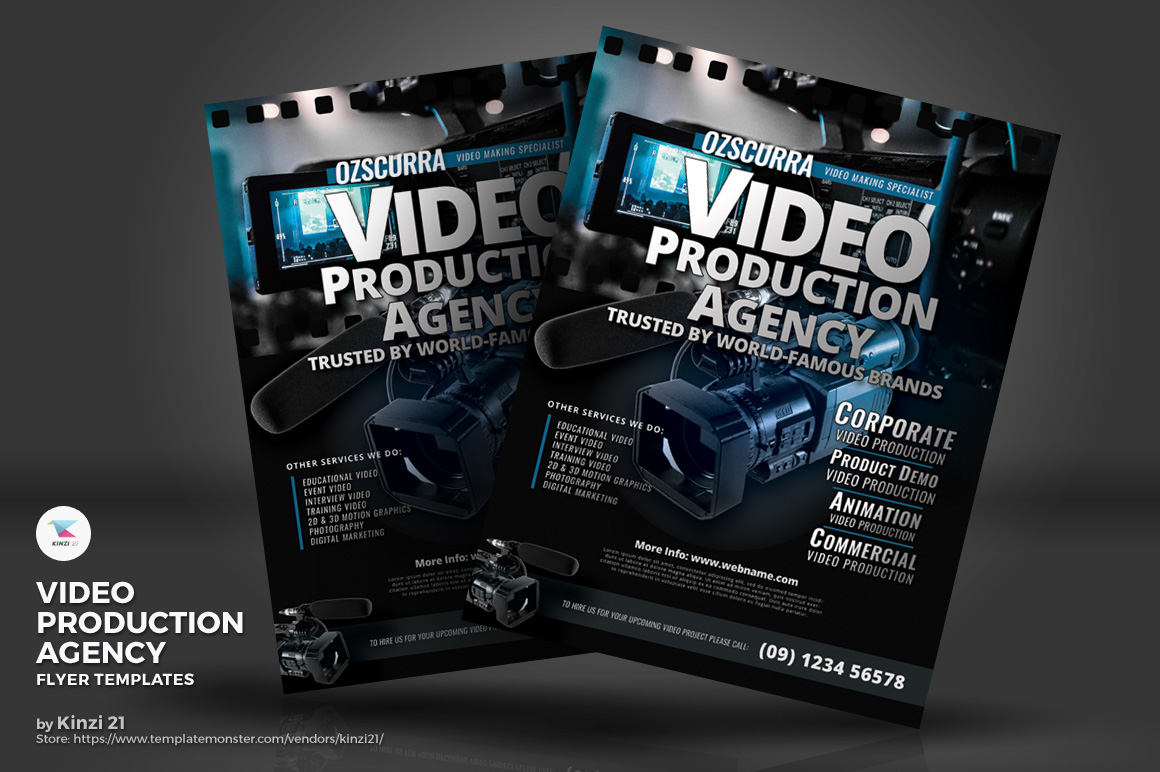 Video Production Agency Corporate Identity