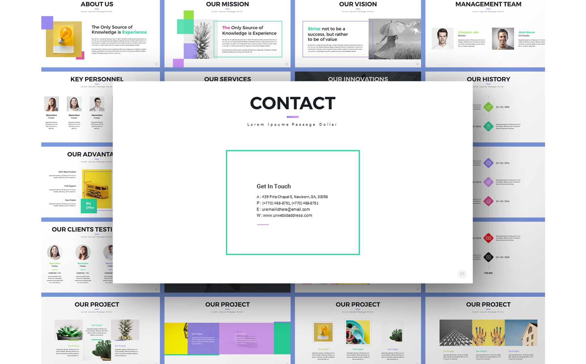 Pro-Project Proposal PowerPoint Template