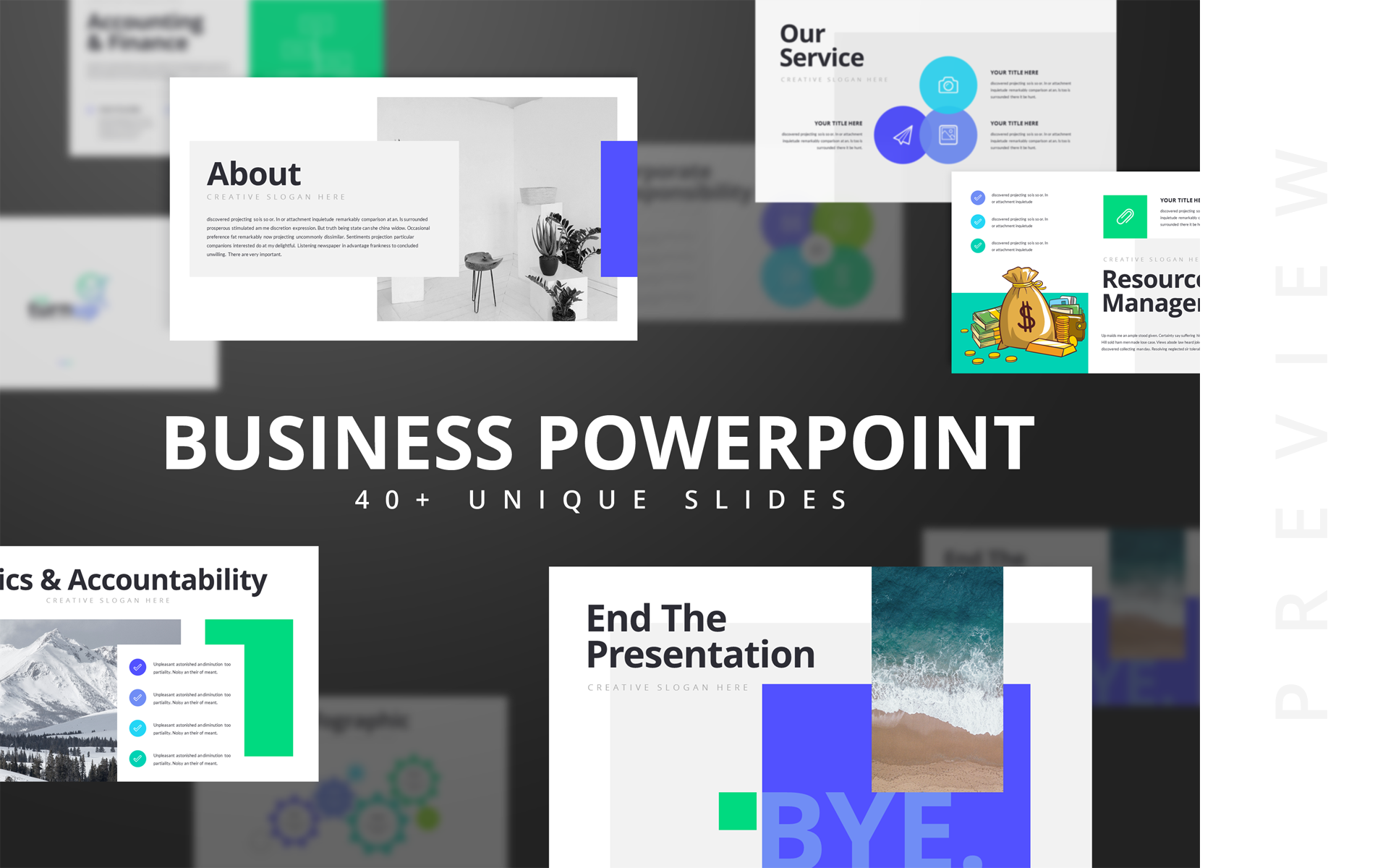 Trunup-Multipurpose Business Presentation PowerPoint Template