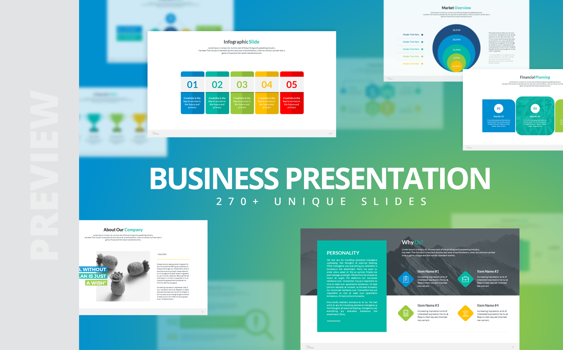 12in1 PowerPoint Presentation PowerPoint Template