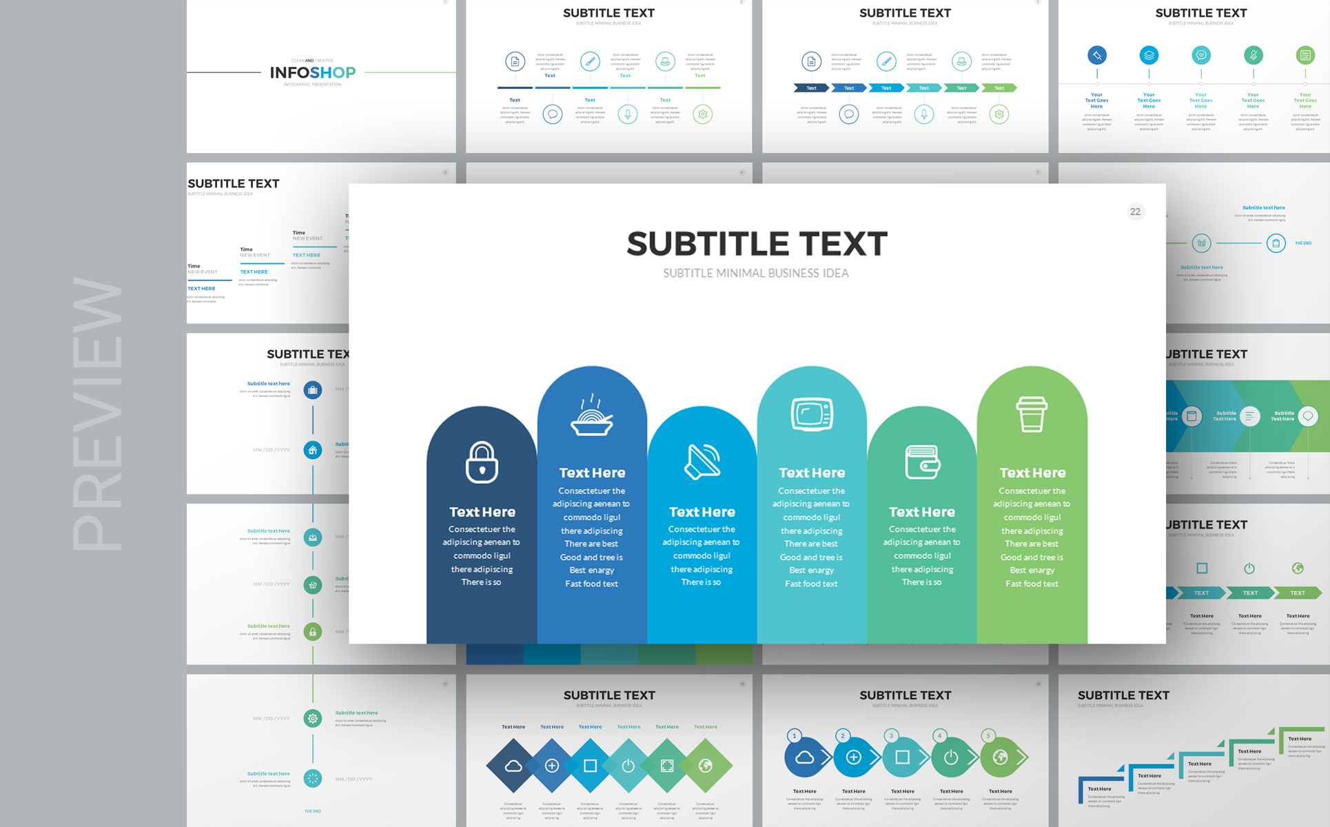 Infoshop - Infographic Keynote Template