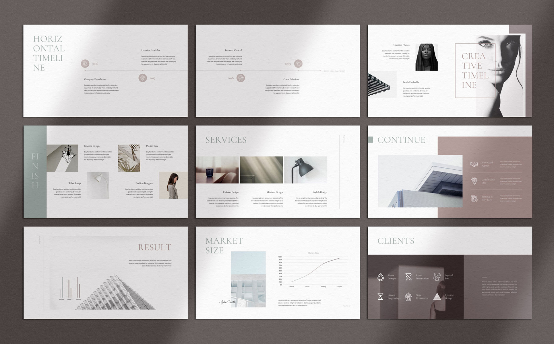 DOOM - Minimal PowerPoint Template