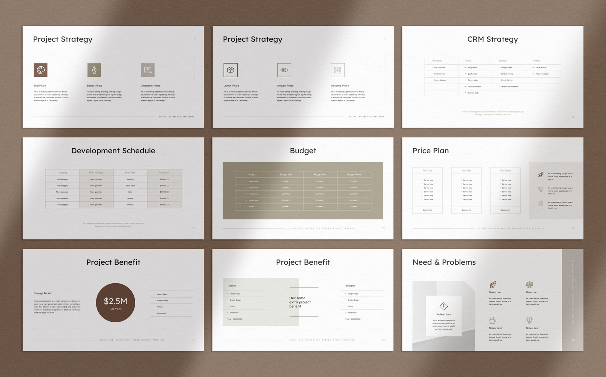Laxed - Project Proposal Presentation PowerPoint Template