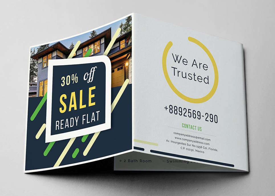 Promotional Z Fold Brochure Corporate Identity