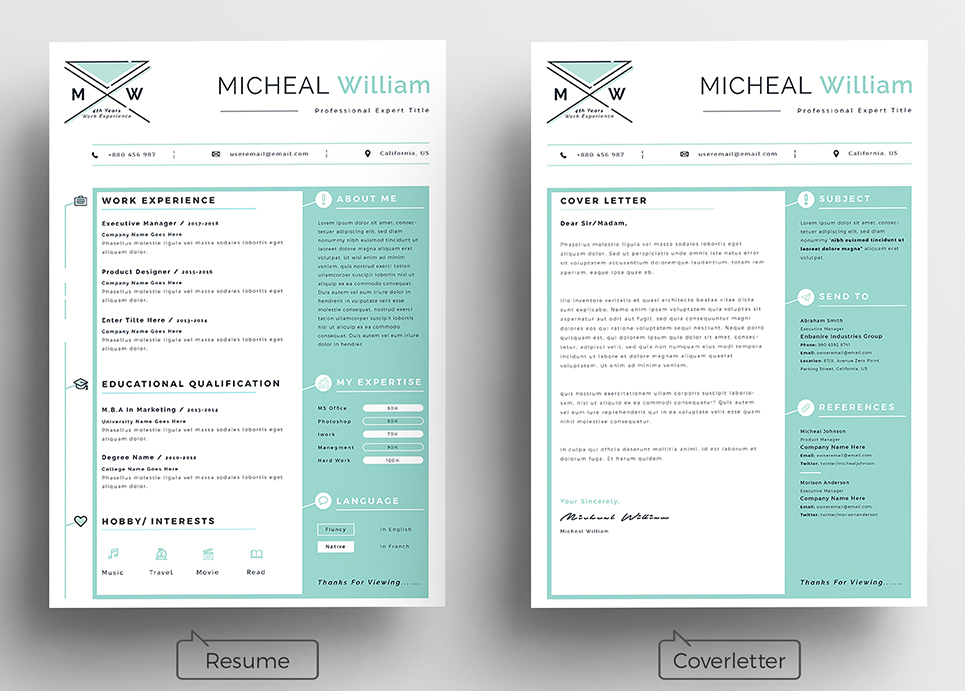Micheal Personal Resume Template