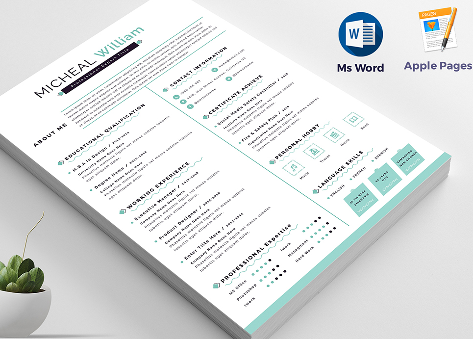 William - Resume Template