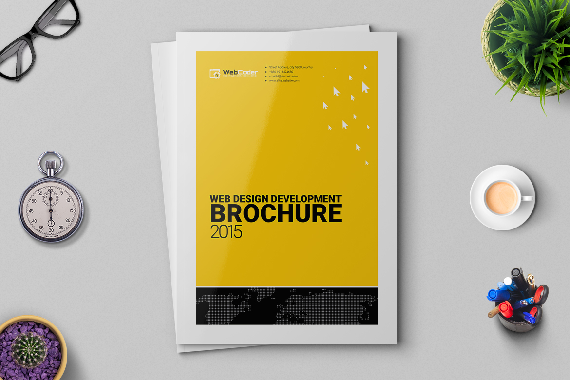 Brochure for Web Agency and Development Agency Corporate Identity