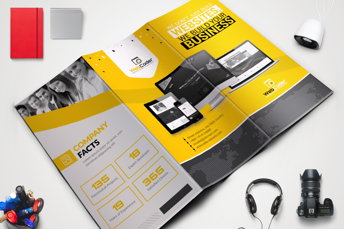 Web Design & Development Brochure Corporate Identity