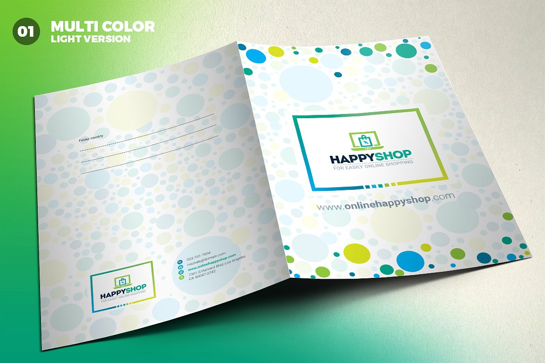 Presentation Folder Corporate Identity