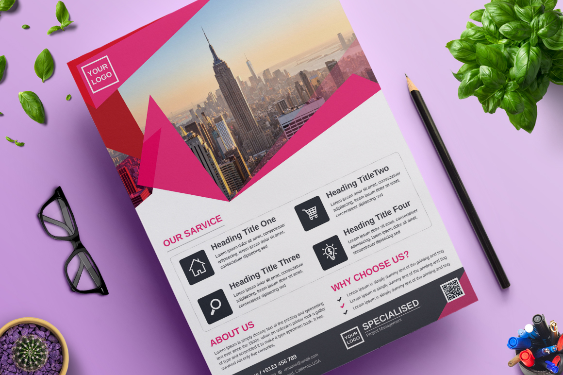 Creative and Modern Flyer | Vol. 07 Corporate Identity