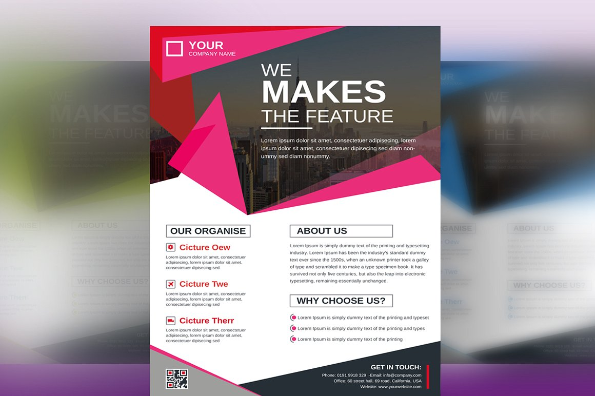 Creative and Modern Flyer | Vol. 08 Corporate Identity