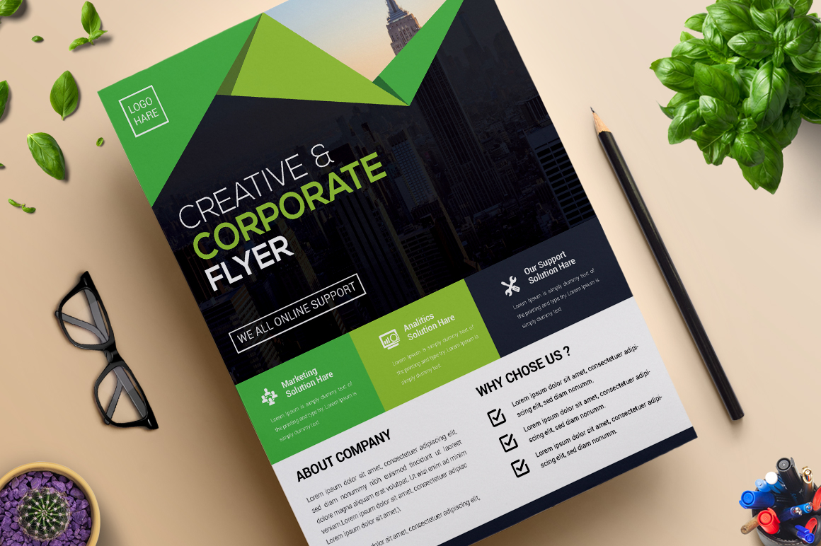 Creative and Modern Flyer | Vol. 09 Corporate Identity