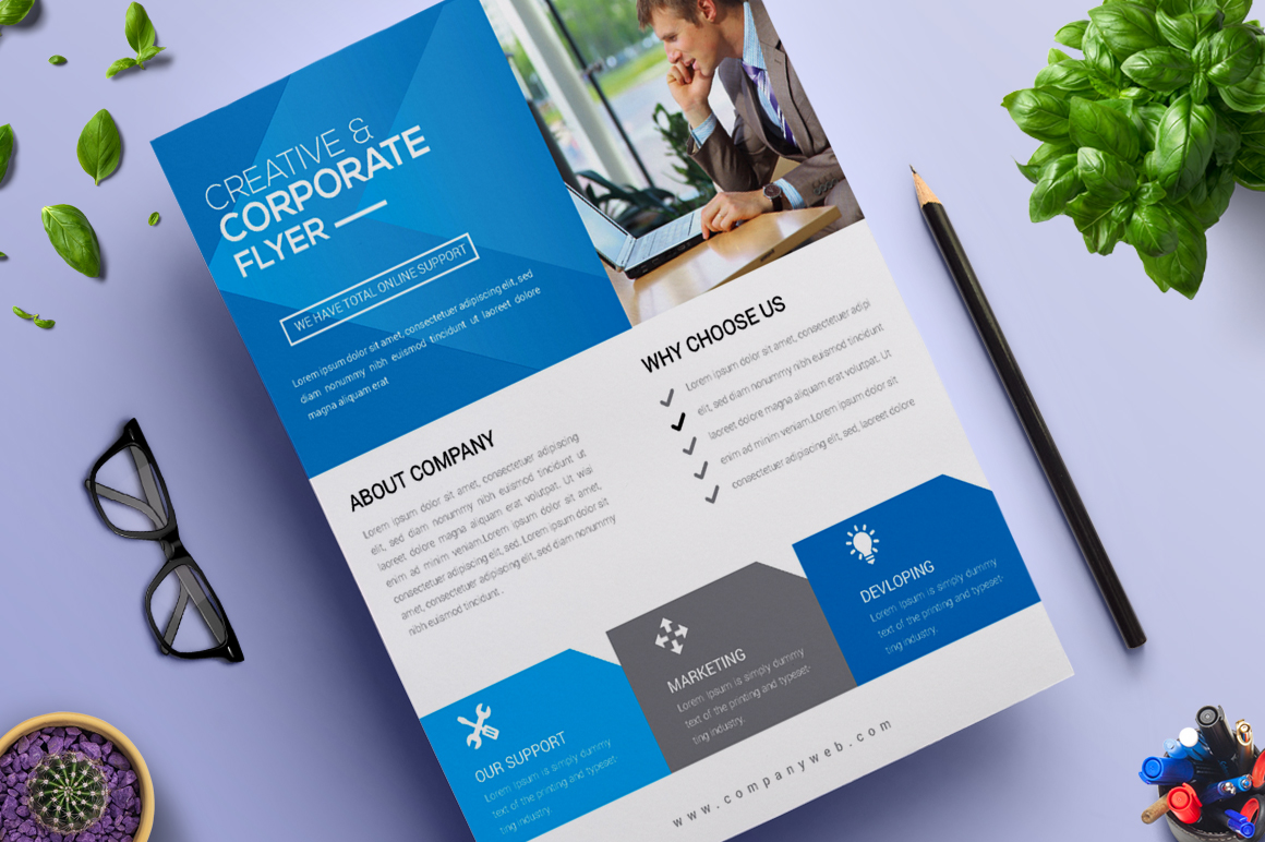 Creative and Modern Flyer | Vol. 12 Corporate Identity