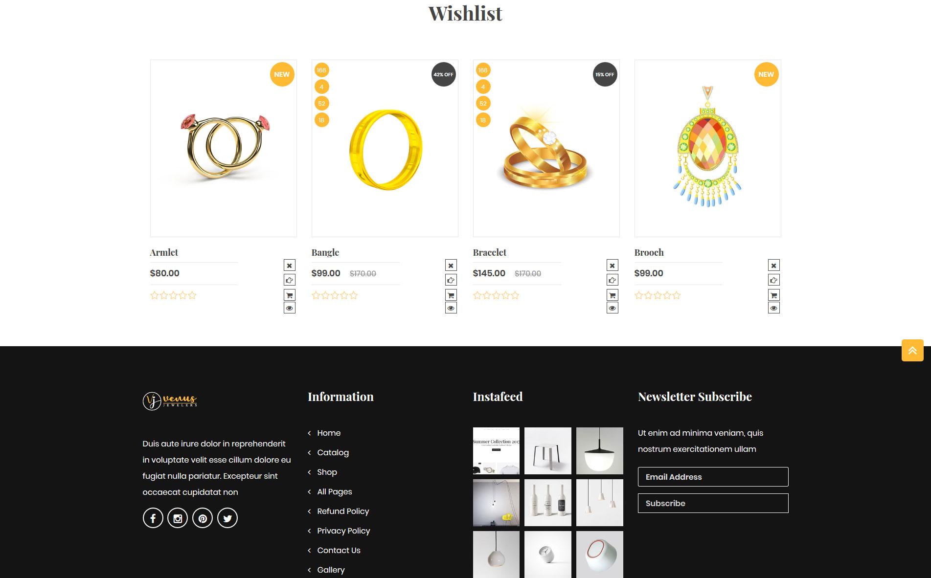 Venusjewelers - Multipurpose Dropshipping Shopify Theme