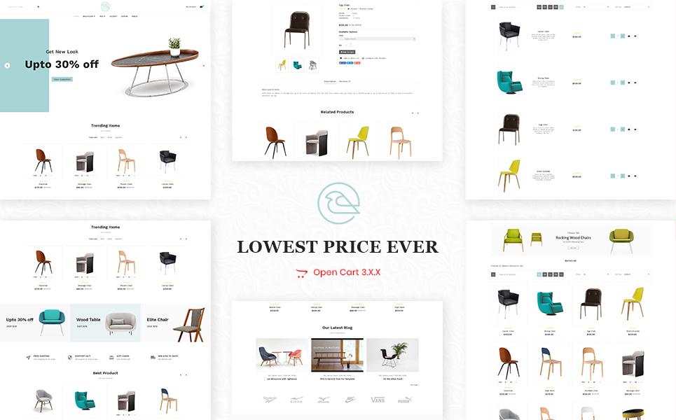 Furniture Mega Purpose OpenCart Template