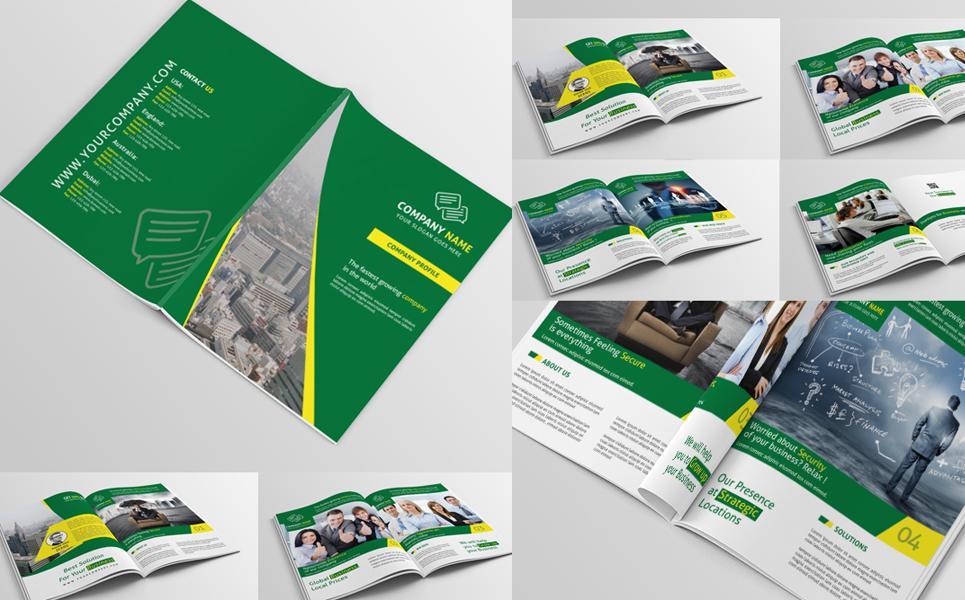 Company Profile PSD Corporate Identity