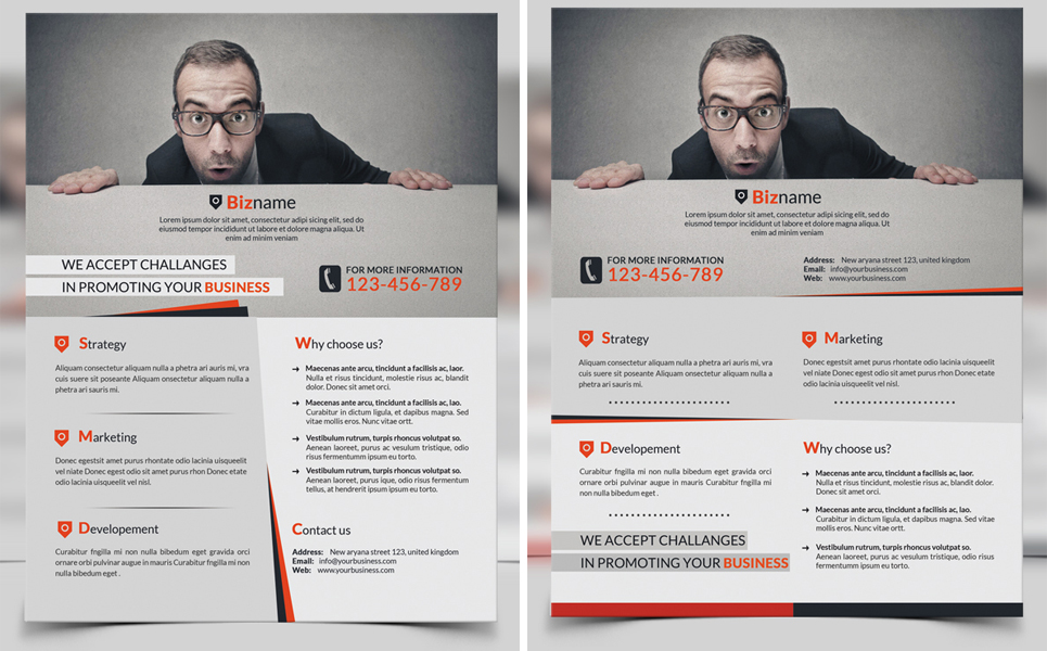 Biz - Corporate Business Flyer Corporate Identity