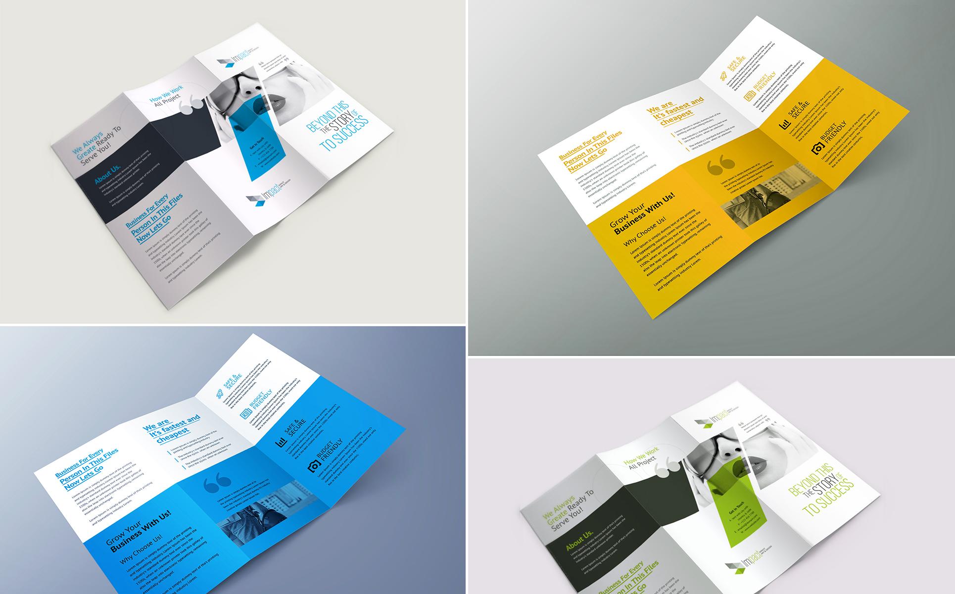 Trifold Brochure Corporate Identity