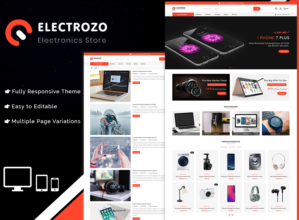 Electrozo PrestaShop Theme