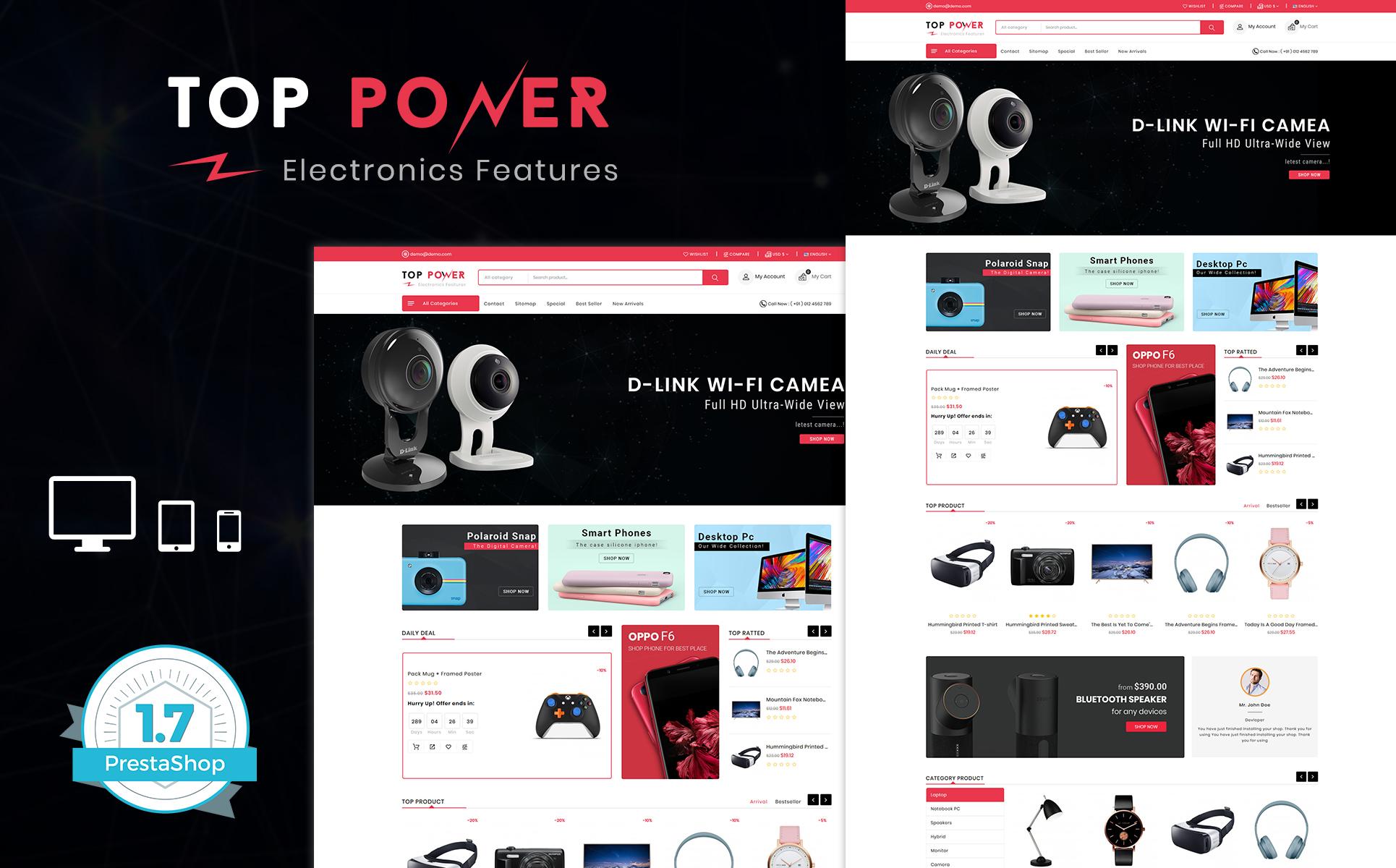 TopTower PrestaShop Theme