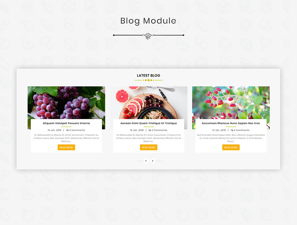 Flavoro Organic OpenCart Template