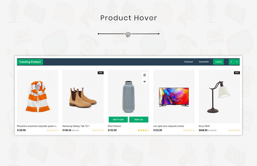 Shopeza Best ELectronic Theme OpenCart Template