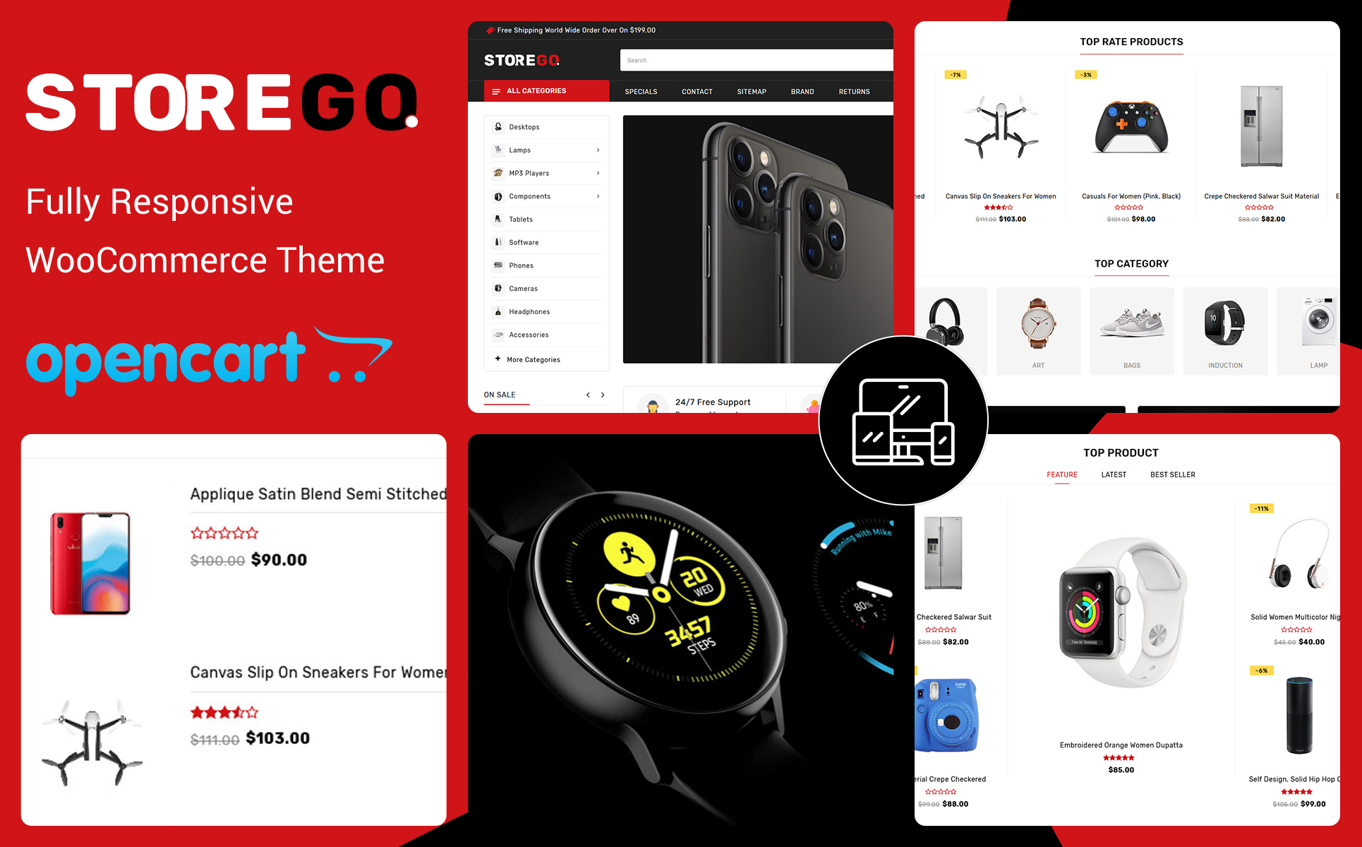 StoreGo Electronic OpenCart Template