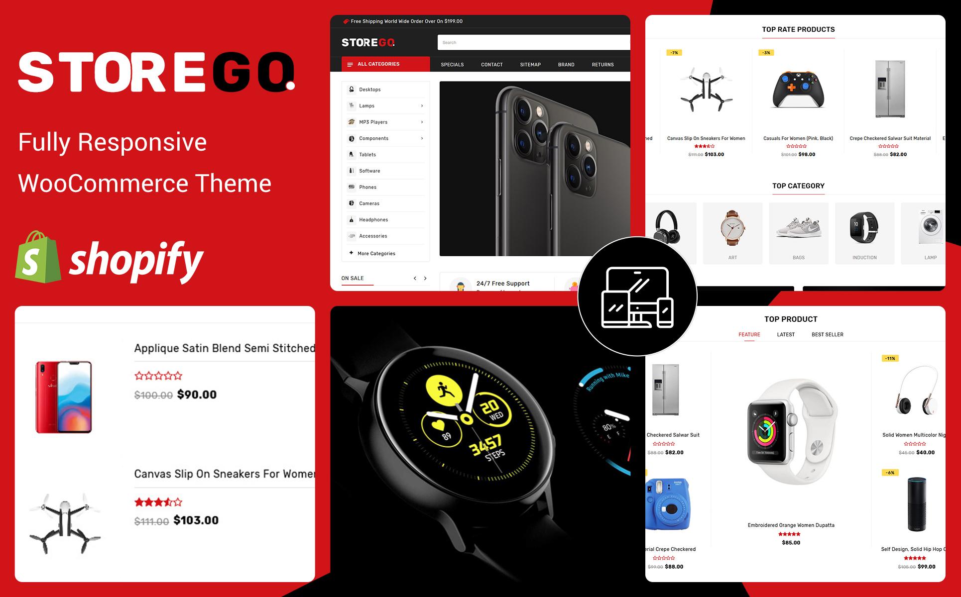 StoreGo - Electronic Shopify Theme