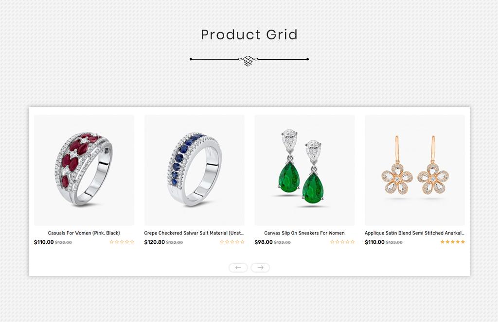 DIAMODA - Jewellery OpenCart Template