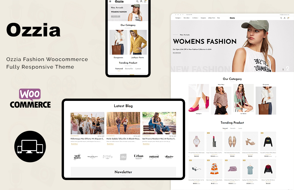 Ozzia - Fashion Premium WooCommerce Theme