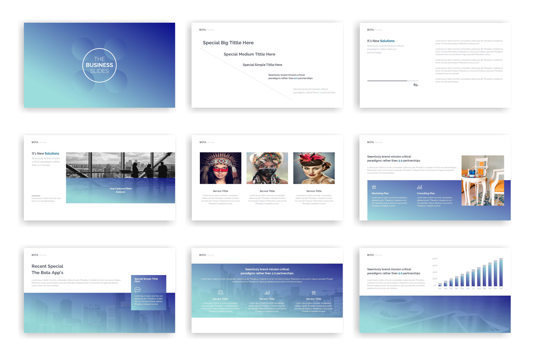 Bota Presentation PowerPoint Template